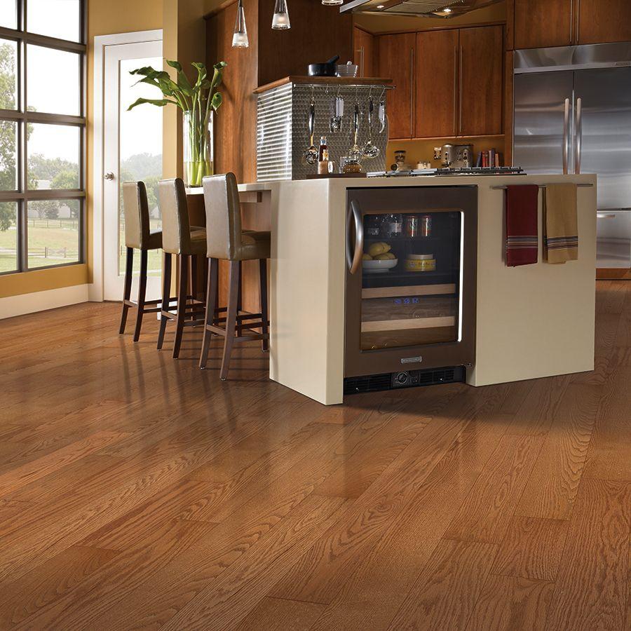 Shop allen  roth 5in W Prefinished Oak Hardwood Flooring