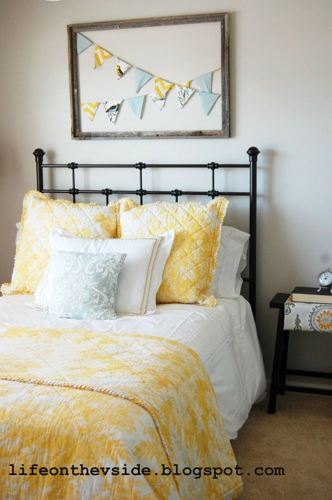 Yellow And Gray S Bedroom Google Search