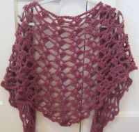 """Cascading Petals Shawl"" Crochet Pattern.Triangle Wingspan ..."
