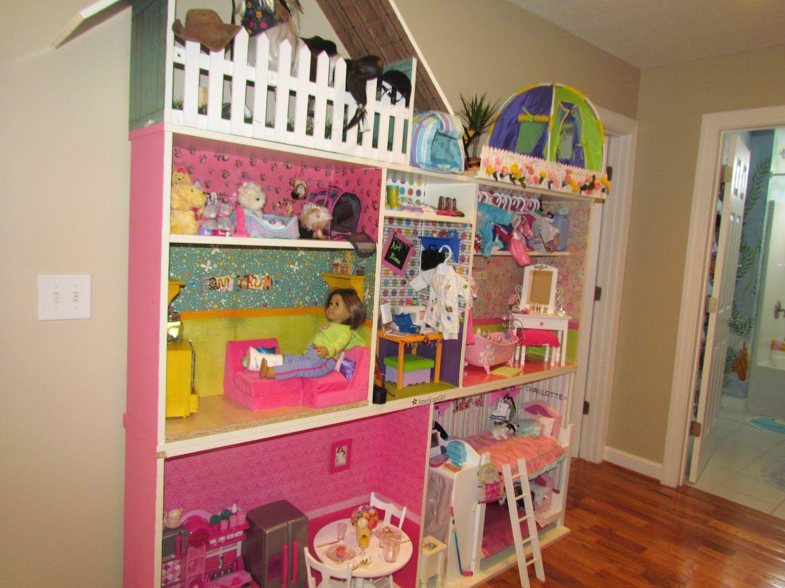 Crazy Flipping Craft Mom American Girl House American Girl