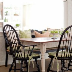 Black Farmhouse Chairs Monarch Valley Dining This Country Setting Features A Table
