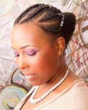 cornrow styles women natural
