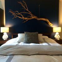driftwood art over bed | renos | Pinterest | Driftwood ...