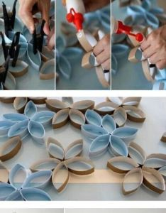 Diy toilet paper rolls wall decor crafts craft ideas easy idea home vase for the crafty also pictures photos and images rh pinterest