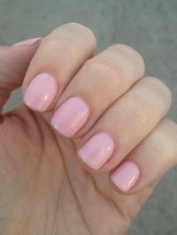 Pretty in pink - gel nails | OOO I got my nails did ...