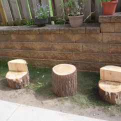 Tree Stump Chairs Dining Room Canada Table And From Stumps Wait Till We Get The