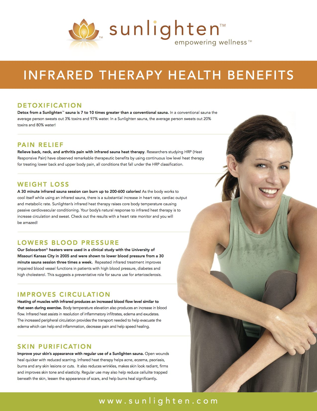 the Health Benefits of Infrared Therapy wwwsunlighten