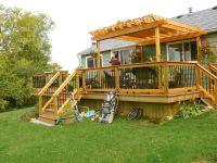 Small Deck Pergola Designs | Home Design Ideas | Decks ...