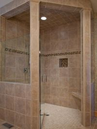 Handicap Accessible Curbless Shower Design, Pictures ...
