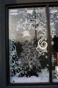 snowflake window painting - Google Search | window ...