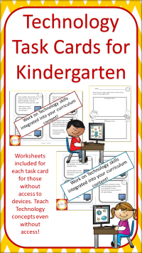 Technology Task Cards for Primary Students | Worksheets ...