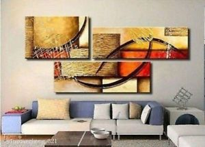 Modern abstract wall decor large oil painting on art canvas pc also rh pinterest