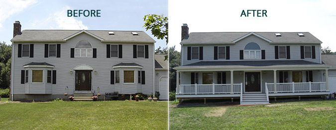 Home Exterior Before And After