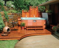 Creative Hot Tubs In Landscape Ideas Google Search Hot Tubs In