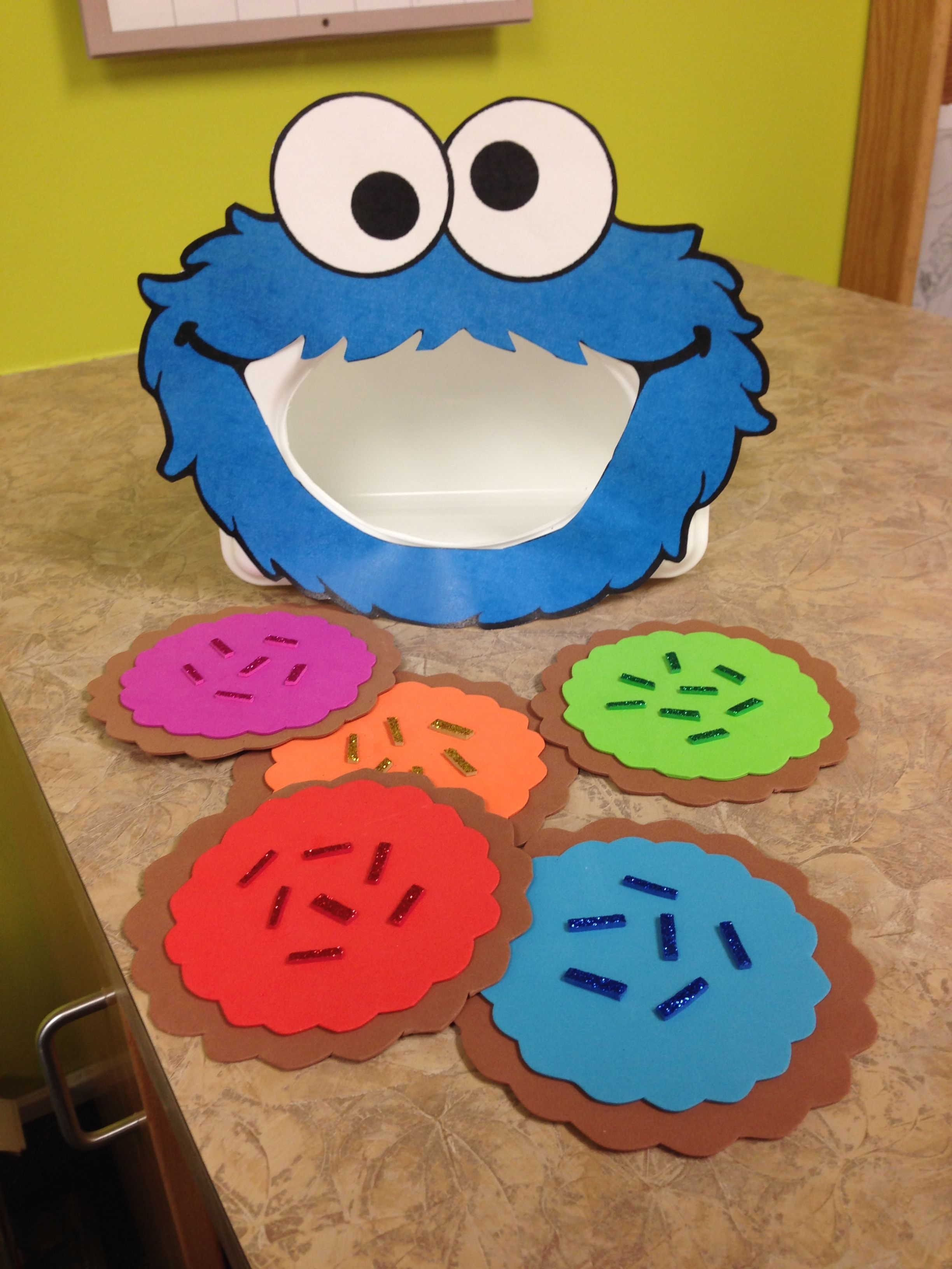 Milk And Cookies Storytime Cookie Monster Activity