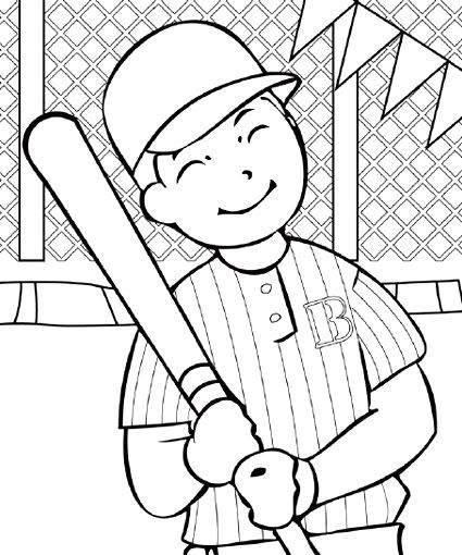 Baseball Coloring Pages #baseball #coloring #getgrizzlie