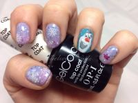 Olaf the snowman from frozen. Handpainted by Chelsea Baart ...