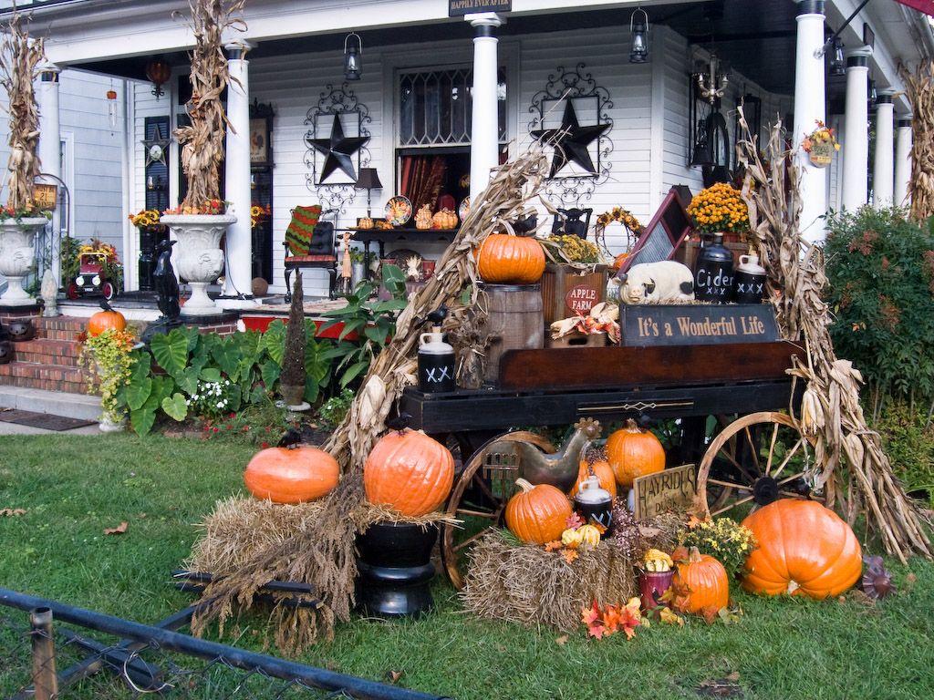 31 Cozy & Simple Rustic Halloween Decorations Ideas Rustic