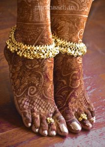 Anklet and Toe Ring Designs