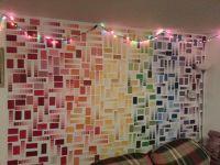 Paint Swatch Wall   wall   Pinterest