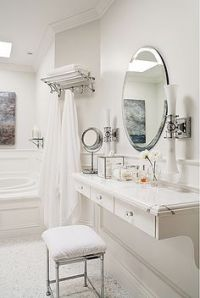 WALL MOUNTED MAKEUP VANITY | BEDROOM | Pinterest | Makeup ...