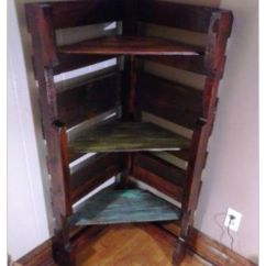 Small Corner Hutch Kitchen Cooking Utensils Pallet Bookshelf...i'm Making One Of These For Each ...