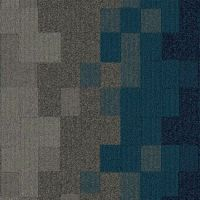 Carpet tile patterns add a fun burst of shapes and colors ...