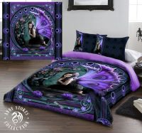 Anne Stokes Naiad King Size Bed Duvet Cover Set Goth Rock ...
