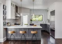 Small Home With Big Style | Warm grey walls, Base cabinets ...