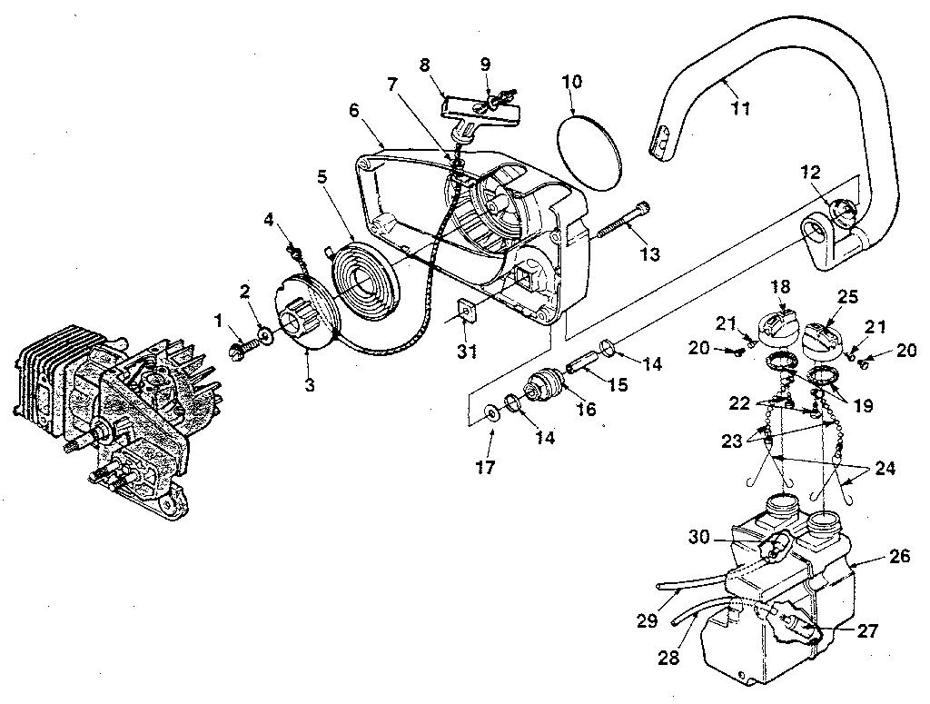 Diagram Of Homelite 240