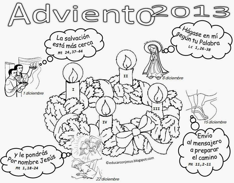 Coloring Page Of Christmas Countdown Day 1 Advent Calendar