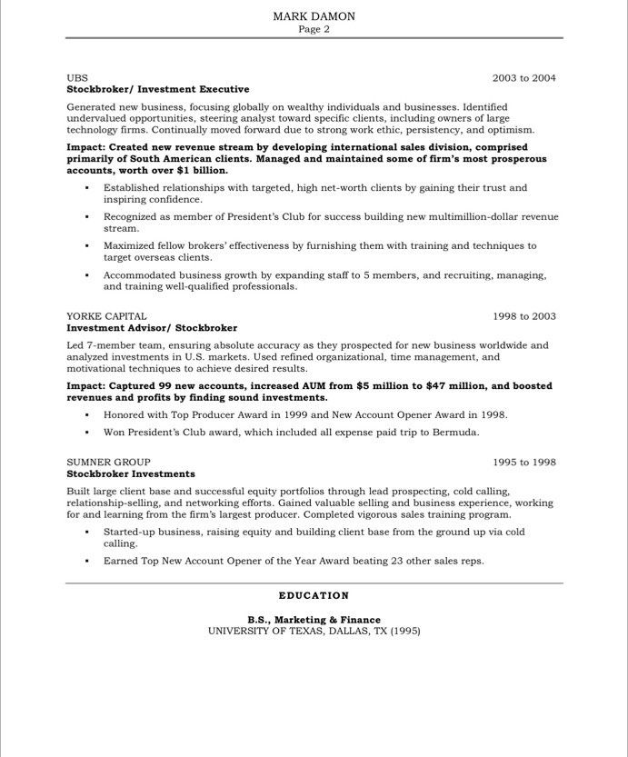 Sales Resumes Examples Free - Examples of Resumes - Media Sales Resume