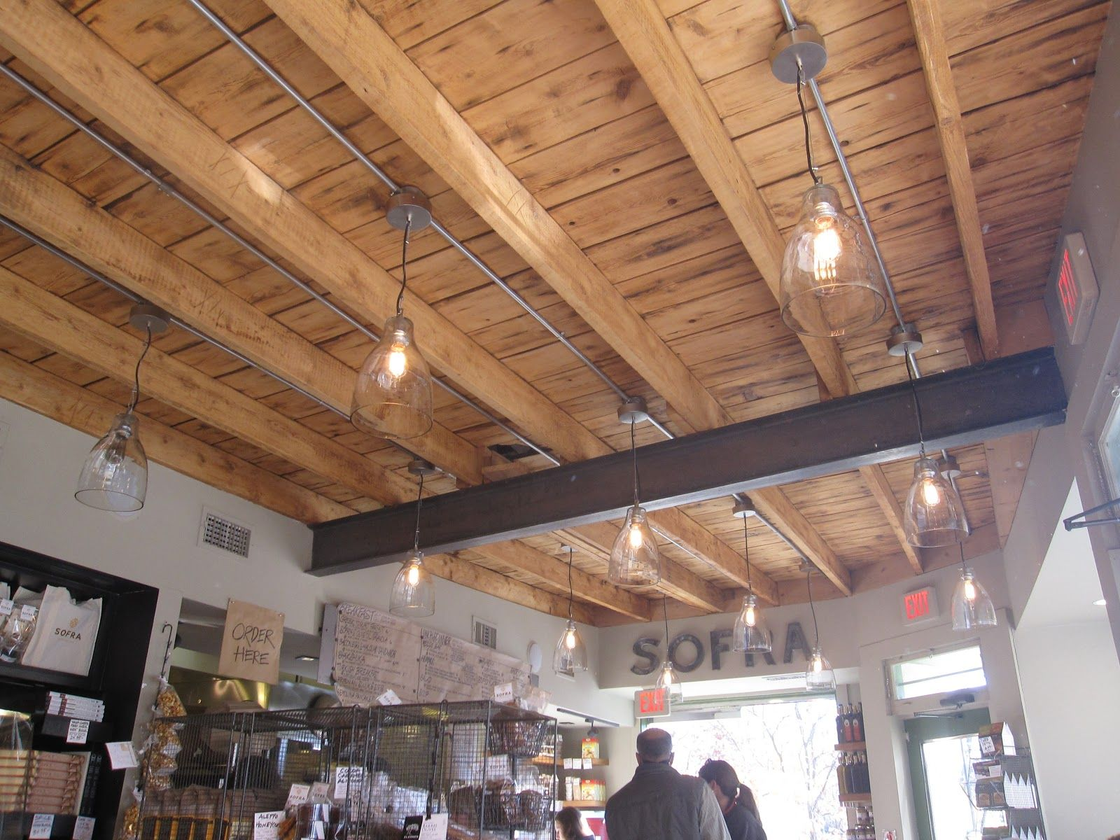 Open Beam Ceilings