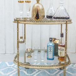 Living Room Mini Bar Furniture Design Tile Floor Images One Vintage Drinks Trolley Three Ways | ...