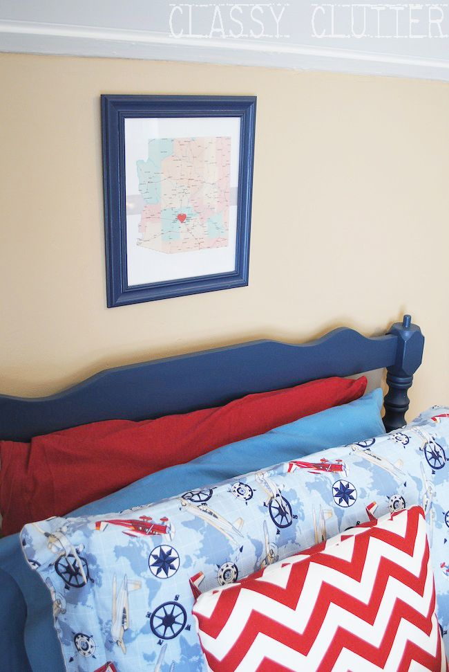 Airplane room also little boys  makeover on  budget classy vintage rh pinterest