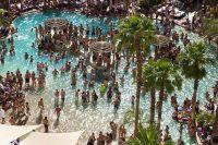 Hard Rock Hotel, Las Vegas pool party...Amaze Balls. Can't