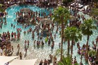 Hard Rock Hotel, Las Vegas pool party...Amaze Balls. Can't ...
