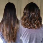 brunette hairstyles fade