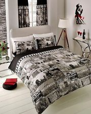 3pc hollywood duvet cover pillowcases quilt cover bedding set single double king