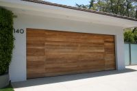 Wooden Modern Garage Doors | Design | Pinterest | Modern ...