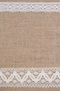 Burlap and Lace Clip Art | Burlap background with lace ...