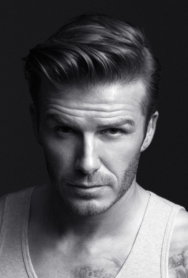 Starschnitt David Beckham's Frisur David Beckham David Und Die