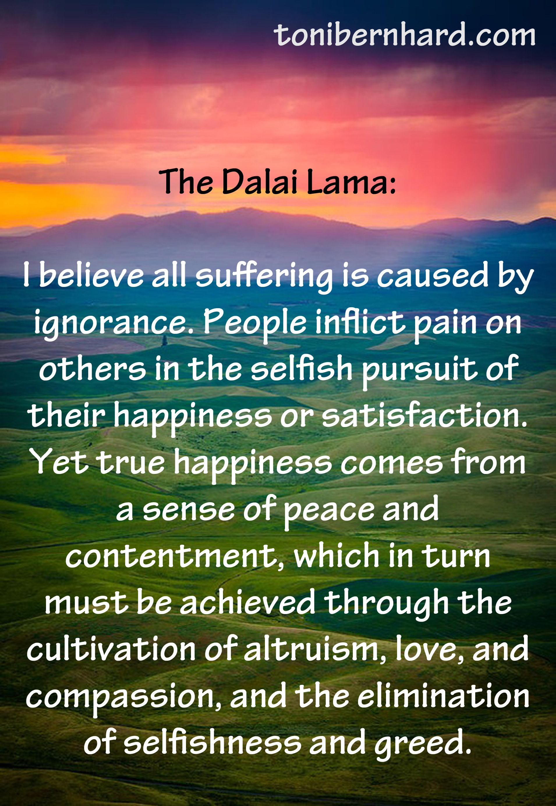 Dalai Lama Quotes Life Dalai Lama Quotes On Selfishness Peoplepc Picture