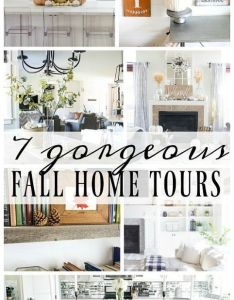 Fall home tour also decor inspired homes and decorating rh pinterest
