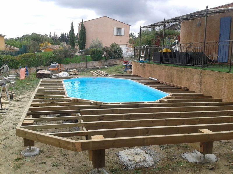 Resultat De Recherche D S Pour Piscine Semi Enterree Avec Terrasse Amenagement Exterieur Pinterest Piscine Hors Sol Pool Spa And Swimming