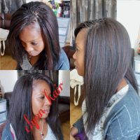 Crochet braids + pick n drop done with xpression ...