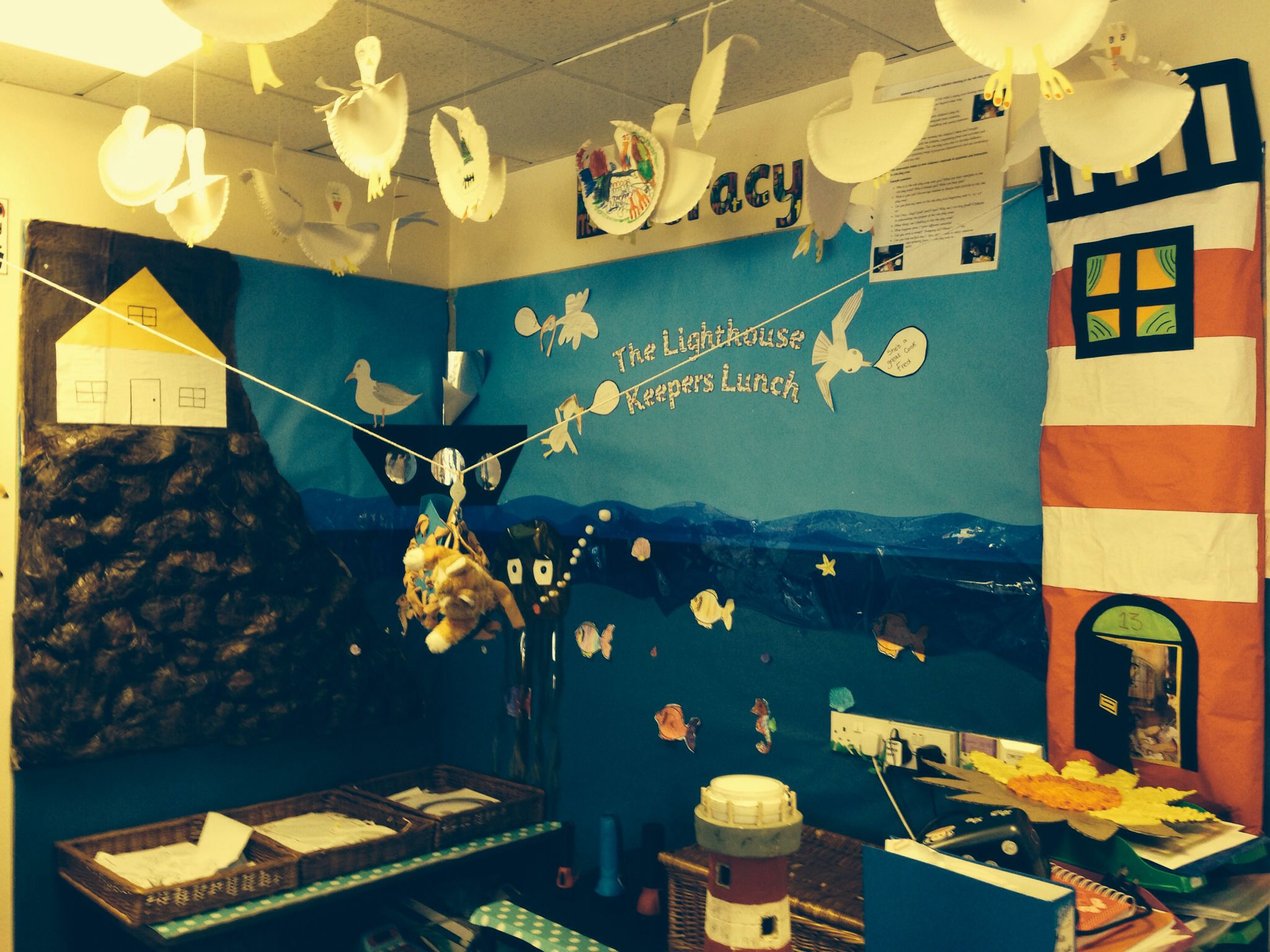 The Lighthouse Keepers Lunch Classroom Display