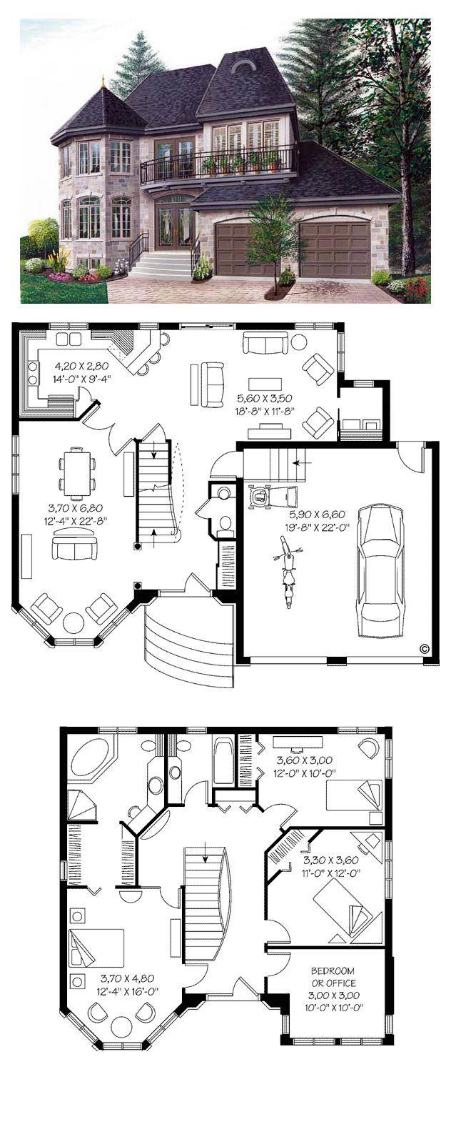 Victorian House Plan 65210