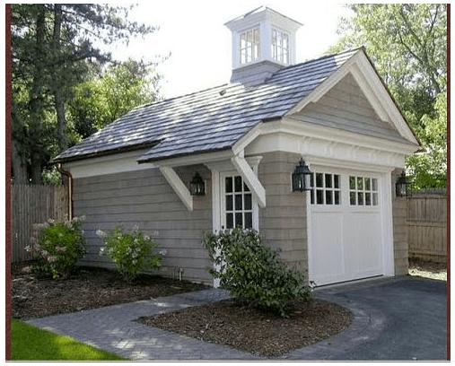 Best 25 Detached garage ideas on Pinterest  Garage design Barn garage and Shed workshop