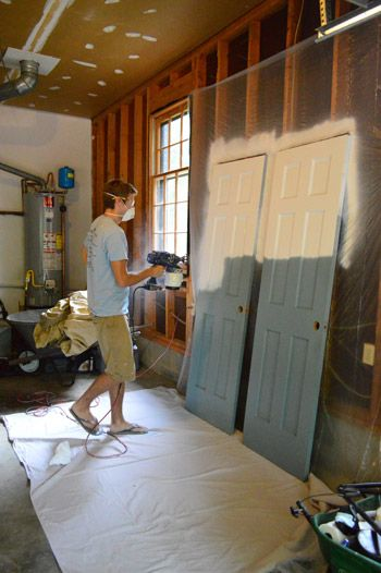 Using A Sprayer To Prime And Paint Doors How It Went What We